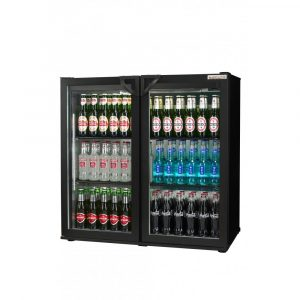 Autonumis RHC00001 Maxi Double Door Bottle Cooler (Hinged Doors)