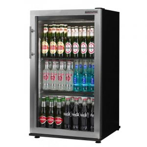 Autonumis Popular RFC00002 Single Door Bottle Cooler (Stainless Steel Door Trim)-0