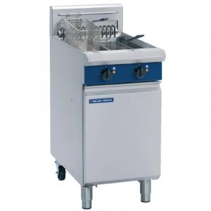 Blue Seal Twin Pan Electric Fryer