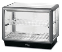 Lincat D5H/75B Seal Rectangular Front Heated Food Merchandiser-0