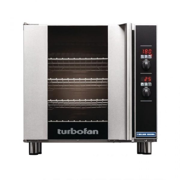 Blue Seal Turbofan E32D4 Digital Electric Convection Oven