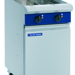 Blue Seal E44 Evolution Series Vee Ray Twin Pan Electric Fryer