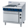 Blue Seal E506C Evolution Series Electric 4 Burner Range Static Oven 2/1 GN