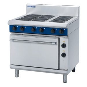 Blue Seal E506D Evolution Series Electric Range Static Oven 2/1 GN