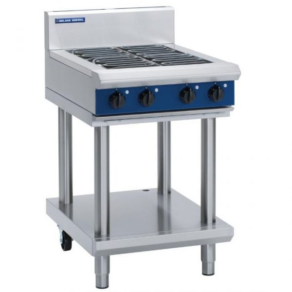 Blue Seal E514D-LS Evolution Series Electric Cooktop 9.6kw Leg Stand