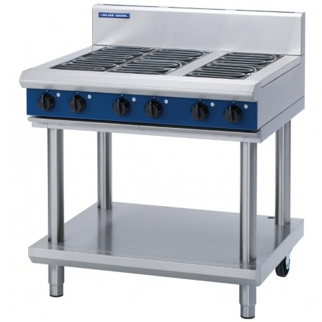 Blue Seal E516D-LS Evolution Series Electric Cooktop 14.4kw Leg Stand