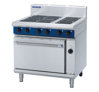 Blue Seal E56D Evolution Series Electric Range Convection Oven 2/1 GN