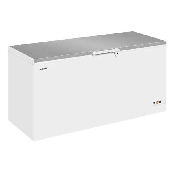 Elcold EL61 Stainless Steel Lid Chest Freezer