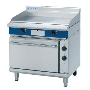 Blue Seal Evolution Series EP506 900mm electric griddle static 2/1 GN