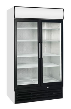 Tefcold FSC1200HP Hinged Glass Door Merchandiser