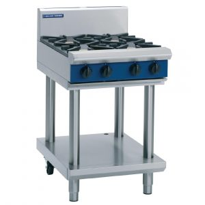 Blue Seal Evolution Series G514D-LS Gas Cooktop 28kw Leg Stand