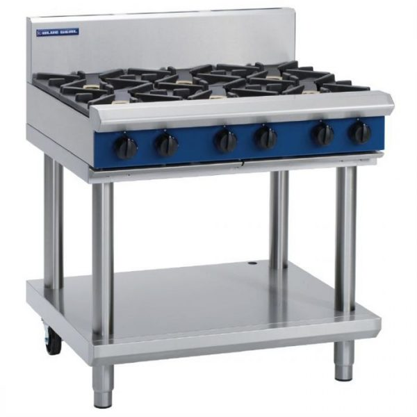 Blue Seal Evolution Series G516D-LS Gas Cooktop 42kw Leg Stand