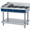 Blue Seal Evolution Series G518C-LS Gas Cooktop 48kw Leg Stand