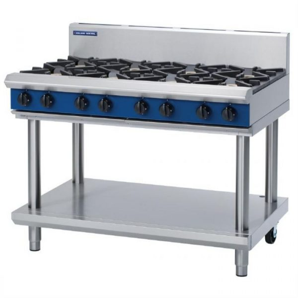 Blue Seal Evolution Series G518D-LS Gas Cooktop 56kw Leg Stand