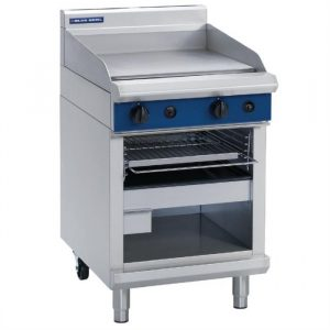 Blue Seal Evolution Series G55T Gas Griddle Toaster