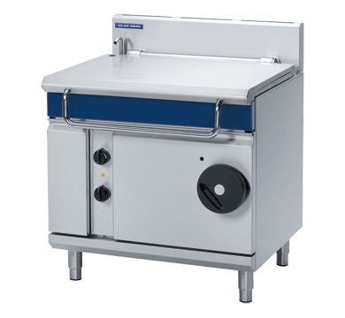 Blue Seal Evolution Series G580-8 Gas Manual Tilting 80 Litre Bratt Pan