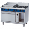 Blue Seal Evolution Series G58B Gas Range Convection Oven 2/1 GN 49kw