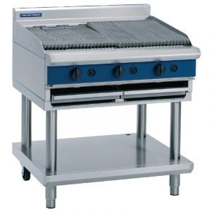 Blue Seal Evolution Series G596-LS Gas Chargrill Leg Stand 29.3kw