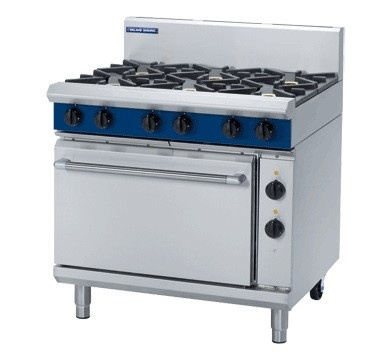 Blue Seal GE506D Evolution Series 6 Burner Gas Range 2/1 GN