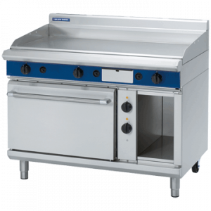 Blue Seal Evolution Series GPE508 Gas Griddle Electric Static Oven Range 2/1 GN