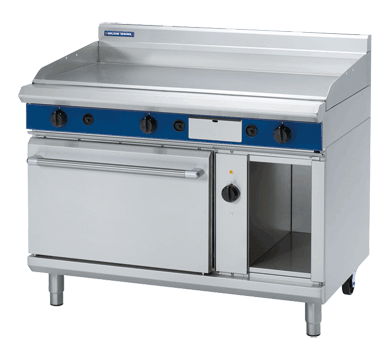 Blue Seal Evolution Series GPE58 Gas Griddle Electric Convection Oven Range 2/1 GN