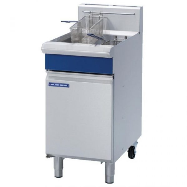 Blue Seal Evolution Series GT45 Vee Ray Single Pan Gas Fryer(manual control)