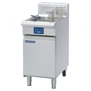 Blue Seal Evolution Series GT45E Vee Ray Single Pan Gas Fryer