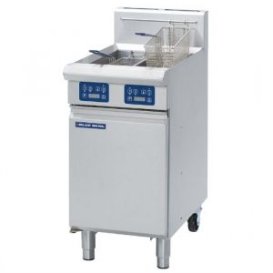 Blue Seal Evolution Series GT46E Vee Ray Twin Pan Gas Fryer