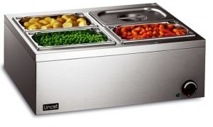 Lincat LBM2W Electric 4x1 G/N Bain Marie (Wet Heat)