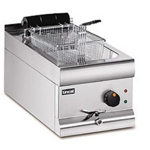 Lincat DF33 Silverlink 600 Counter Top Single Tank Electric Fryer-0