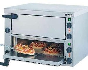 Lincat PO89X Pizza Oven Twin Deck-0