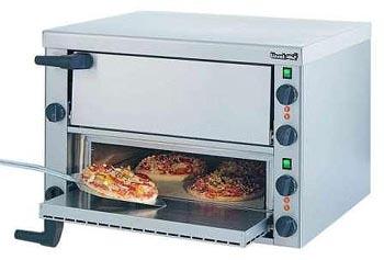 Lincat PO89X Pizza Oven Twin Deck-0