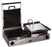 Lincat LRG2 Ribbed Top, Smooth Bottom Double Contact Grill'-0
