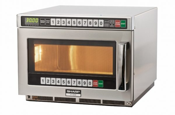 Sharp R1900M Commercial Microwave Oven (1900W)