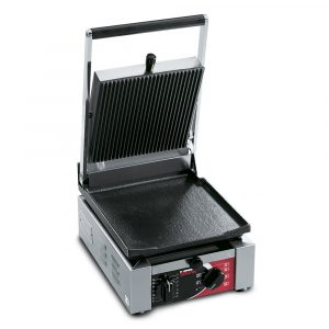 Sirman Elio Single Flat / Ribbed Contact Grill