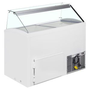 Framec Slant 510 Ice Cream Display