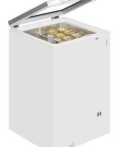Tefcold ST160B Hinged Glass Lid Chest Freezer