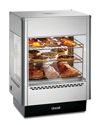 Lincat UMS50 Upright Heated Merchandiser with static rack-0