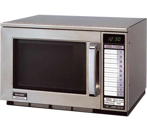 Sharp R24AT Commercial Microwave Oven (1900W)