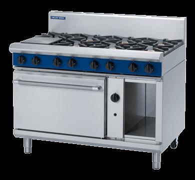 Blue Seal G508D Evolution Series 8 Burner Gas Range Static Oven 2/1 GN