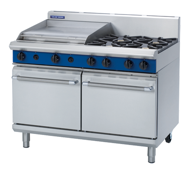 Blue Seal Evolution Series G528B Gas Range Double Static Oven