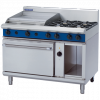 Blue Seal Evolution Series GE58B Gas Range Electric Convection Oven