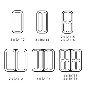 Lincat BA115+BA116 Pasta Baskets-0