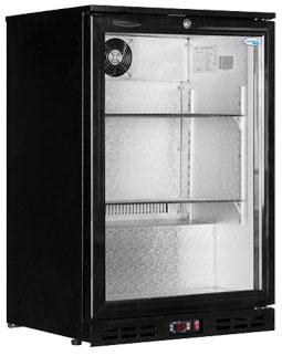 Interlevin PD10H Hinged Single Door Back Bar Bottle Cooler
