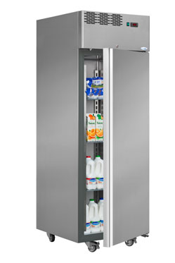 Interlevin AF07TN Italia Range Single Door Upright Refrigerator