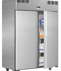 Interlevin AF14TN Italia Range Double Door Upright Gastronorm Refrigerator