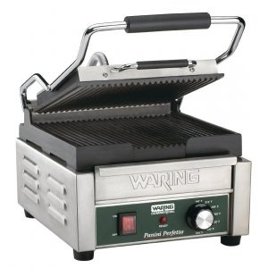 Waring WPG150G Single Ribbed Panini Grill