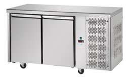Interlevin Italia Range TF02 Gastronorm Refrigerated 2 Door Counter Fridge