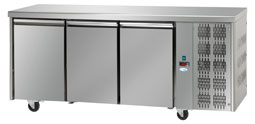 Interlevin Italia Range TF03 Gastronorm Refrigerated 3 Door Counter Fridge