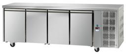 Interlevin Italia Range TF04 Gastronorm Refrigerated 4 Door Counter Fridge